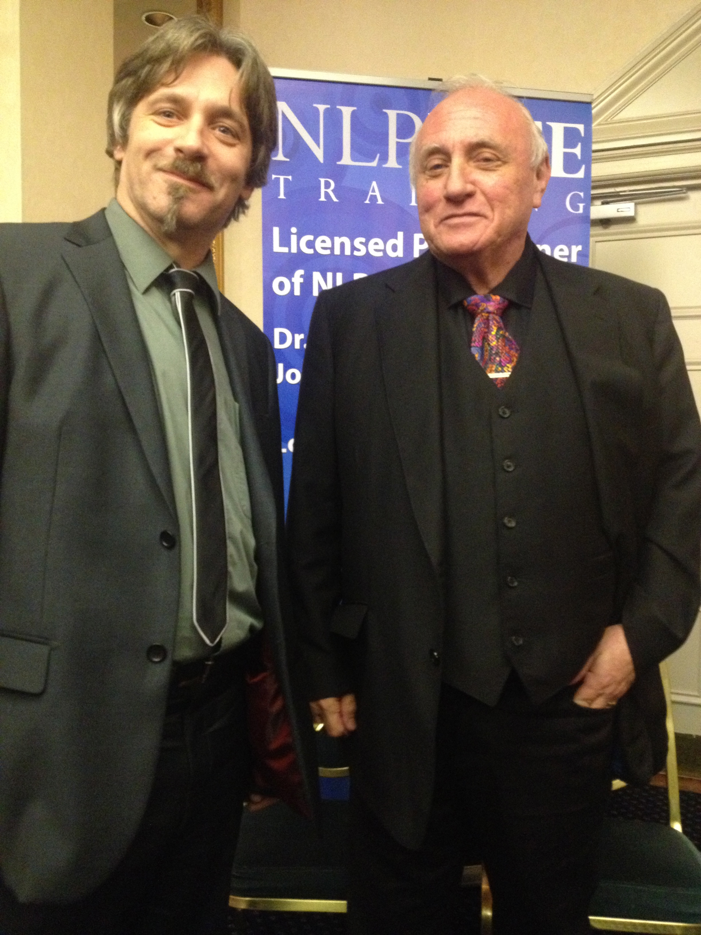 Tom Jagiello with Richard Bandler